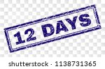 12 days stamp seal print with... | Shutterstock .eps vector #1138731365