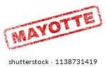 mayotte stamp seal print with... | Shutterstock .eps vector #1138731419