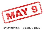 may 9 stamp seal print with... | Shutterstock .eps vector #1138731839