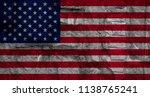flag of america on background... | Shutterstock . vector #1138765241