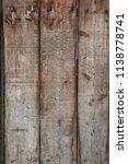 wooden texture boards | Shutterstock . vector #1138778741
