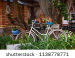 bicycle in the interior of the... | Shutterstock . vector #1138778771