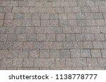 old grunge gray background... | Shutterstock . vector #1138778777