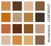 wood samples. assorted... | Shutterstock .eps vector #1138785107