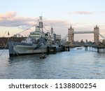 River View Of The Hms Belfast ...