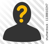 anonymous person vector... | Shutterstock .eps vector #1138810247