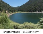 This is Cabresto lake near the town of Questa in the Carson National Forest in northern New mexico.