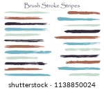 hipster ink brush stroke... | Shutterstock .eps vector #1138850024
