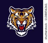 tiger head mascot   Shutterstock .eps vector #1138856261