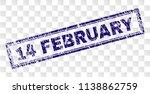 14 february stamp seal print... | Shutterstock .eps vector #1138862759
