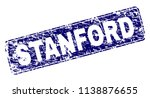 stanford stamp seal print with... | Shutterstock .eps vector #1138876655