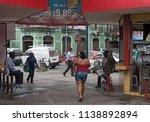 puerto limon  costa rica march... | Shutterstock . vector #1138892894