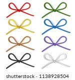 set of decorative colorful bows ... | Shutterstock .eps vector #1138928504