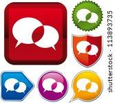 icon talk | Shutterstock .eps vector #113893735