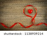 romantic valentines day red... | Shutterstock . vector #1138939214