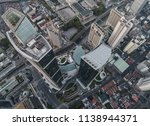 aerial view of business area... | Shutterstock . vector #1138944371
