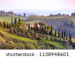 typical tuscan landscape   a... | Shutterstock . vector #1138948601