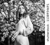 portrait of beautiful young... | Shutterstock . vector #1138954691