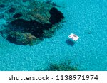 aerial view of two people... | Shutterstock . vector #1138971974