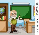 cartoon illustration of a male... | Shutterstock .eps vector #1138976651