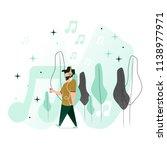 vector illustration in a flat... | Shutterstock .eps vector #1138977971