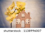 the symbol of the house and... | Shutterstock . vector #1138996007