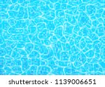 swimming pool bottom vector... | Shutterstock .eps vector #1139006651