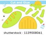 educational paper game for... | Shutterstock .eps vector #1139008061
