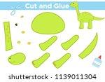 educational paper game for... | Shutterstock .eps vector #1139011304