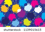 color abstract design pattern... | Shutterstock .eps vector #1139015615