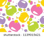 color abstract design pattern... | Shutterstock .eps vector #1139015621