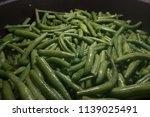 bright green asparagus | Shutterstock . vector #1139025491