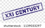 xxi century stamp seal print... | Shutterstock .eps vector #1139033297