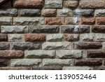 stone wall texture background. | Shutterstock . vector #1139052464