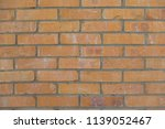 old red brick wall texture... | Shutterstock . vector #1139052467