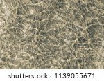 sandy seabed  top view  ... | Shutterstock . vector #1139055671