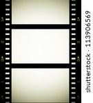 35 mm film strip background ... | Shutterstock . vector #113906569
