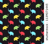 seamless pattern with... | Shutterstock .eps vector #1139071445