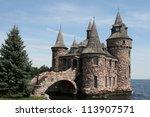 Ancient Boldt Stone Castle Wit...