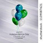 vector illustration of happy... | Shutterstock .eps vector #1139087621