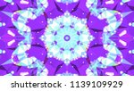 geometric design  mosaic of a... | Shutterstock .eps vector #1139109929