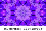 geometric design  mosaic of a... | Shutterstock .eps vector #1139109935