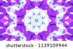 geometric design  mosaic of a... | Shutterstock .eps vector #1139109944