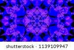 geometric design  mosaic of a... | Shutterstock .eps vector #1139109947