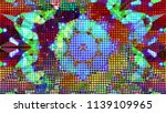 geometric design  mosaic of a... | Shutterstock .eps vector #1139109965