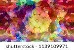geometric design  mosaic of a... | Shutterstock .eps vector #1139109971
