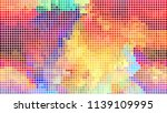 geometric design  mosaic of a... | Shutterstock .eps vector #1139109995