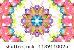 geometric design  mosaic of a... | Shutterstock .eps vector #1139110025