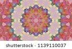geometric design  mosaic of a... | Shutterstock .eps vector #1139110037