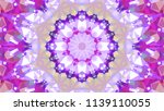 geometric design  mosaic of a... | Shutterstock .eps vector #1139110055